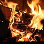 Pitta, un des doshas de l'ayurvéda, représenté par le feu
