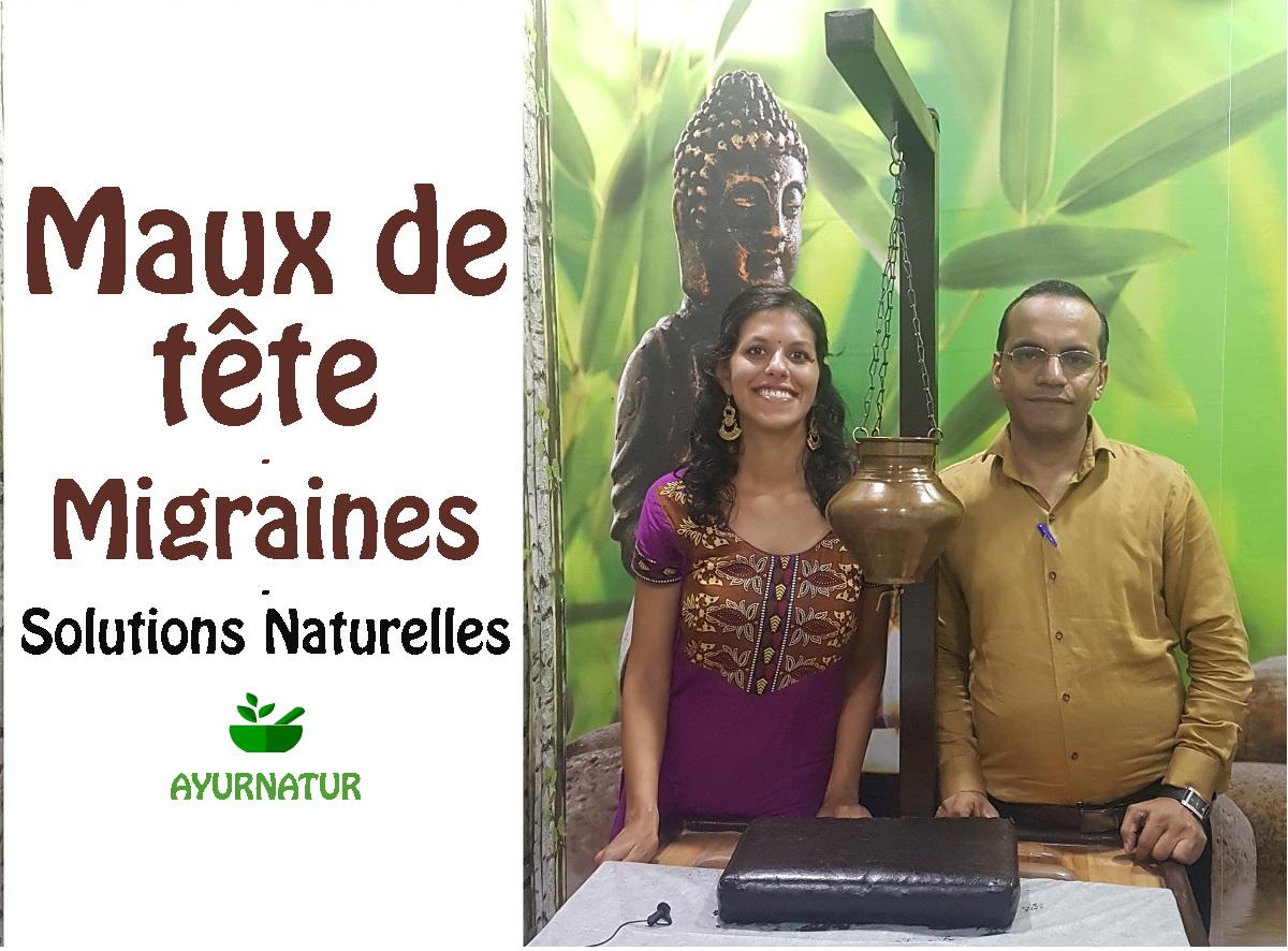 soigner naturellement les maux de tête grâce à l'ayurvéda - avec Dr Sandeep Madaan et Rita Oosterbeek